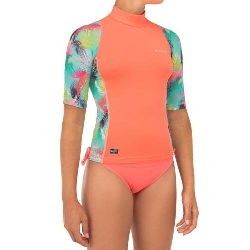 Foto Produk Olaian Kaos Surfing Anak Perempuan 500S Aina Decathlon - 8552617 - 4 tahun dari Decathlon Indonesia
