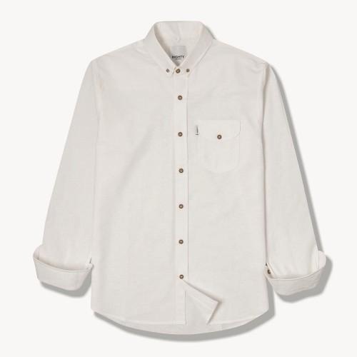 Foto Produk HIGHTY Off White Cotton Long Sleeve Shirt dari HIGHTY OFFICIAL