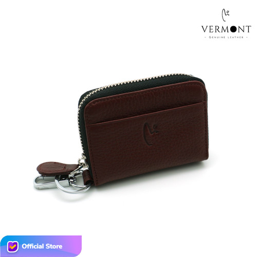 Foto Produk Dompet Kunci Keyless STNK Kulit Branded VERMONT V83 - G004 Original - Maroon Red dari VERMONT LEATHER