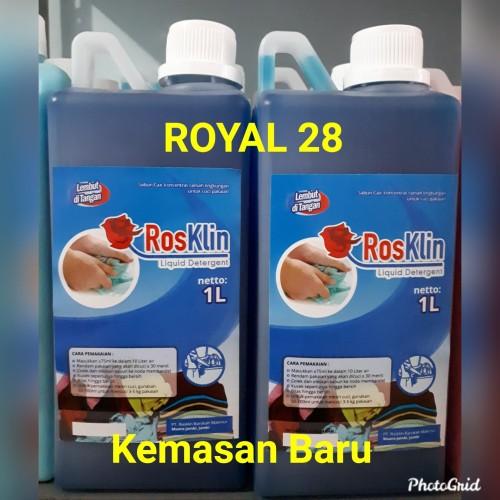 Foto Produk Detergen Cair Premium Rosklin ASLI 1L dari Royal 28