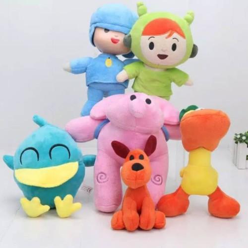 Foto Produk 1 set boneka pocoyo import halus original mainan pocoyo anak bayi - PocoyoDanNina dari cutePeppa