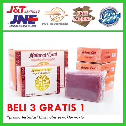 Foto Produk Sabun Penghilang Jerawat Dan Bruntusan 100% Alami - Sabun Natural Oud dari Aji Herbal 01