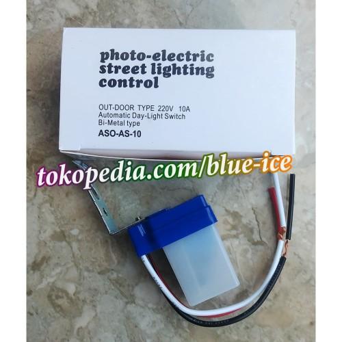 Foto Produk photo control photoswitch sensor lampu jalan otomatis on off AC 220v dari toko segar aman