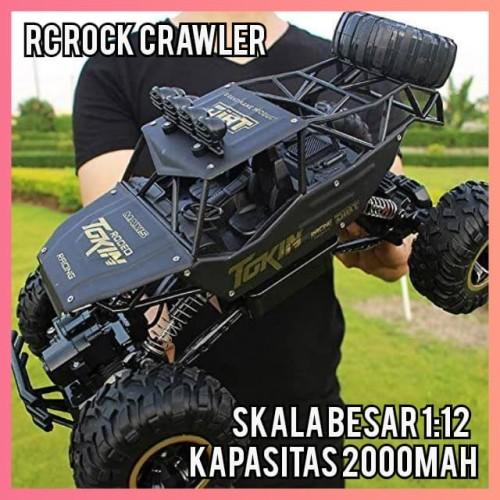 Foto Produk RC Rock Crawler Offroad Truck skala 1:12 Mobil Remote Control 6026 - Silver, 1 Baterai dari GadgetGeekss