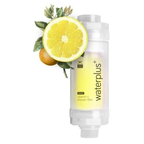 Foto Produk waterplus+ - Vitamin C Shower Filter (Lemon) - VCF-111-LM dari waterplus+ water for all