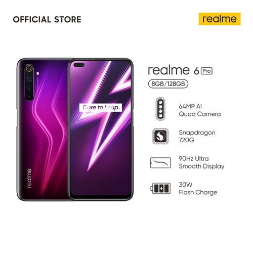Foto Produk Realme 6 Pro 8/128GB RAM 8GB Internal 128GB Garansi Resmi - Merah dari Evogad Official