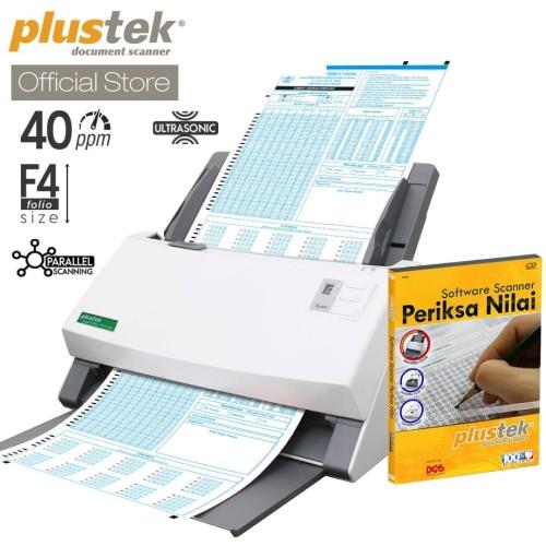 Foto Produk Scanner Plustek Periksa Nilai LJK PS3140U - 40 Lembar/menit (F4/Folio) dari Plustek Indonesia