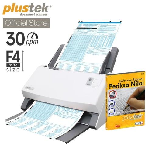 Foto Produk Scanner Plustek Periksa Nilai LJK PS396 Plus - 30 Lbr/mnt (F4/Folio) dari Plustek Indonesia