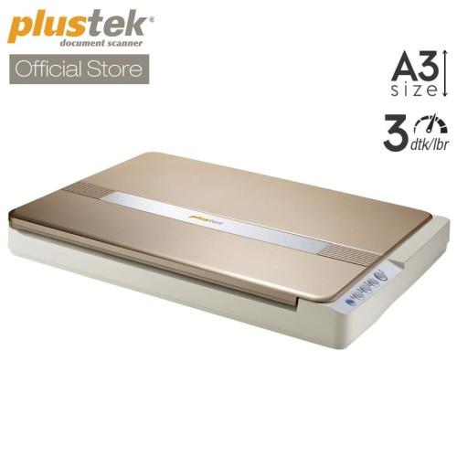 Foto Produk Scanner Plustek OpticSlim 1680 - 3 Detik /lembar (A3 Flatbed) dari Scanner Plustek