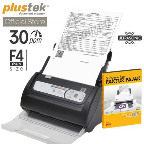 Foto Produk Scanner Plustek Faktur Pajak PS388U - 30 Lembar/menit (F4/Folio) dari Plustek Indonesia