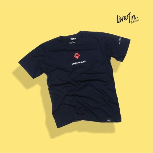 Foto Produk Live in Indonesia : Tshirt - Indonesian dari liveinindonesia_store