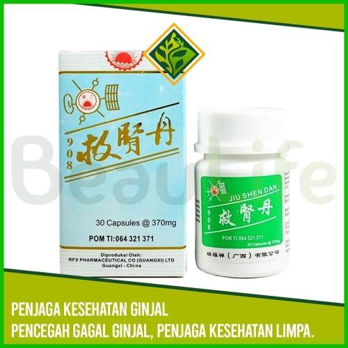 Foto Produk ✅JIU SHEN DAN 30 - Obat Ginjal Limpa Pencegah Gagal Ginjal Nefritis dari BeauLife