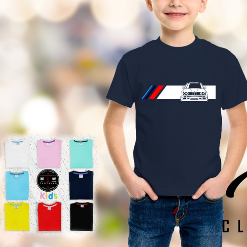 Foto Produk Kaos BMW E30 Kids dari Miw Clothing