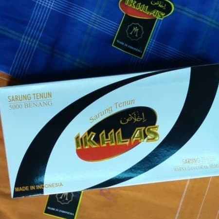 Foto Produk Sarung IKHLAS motif Atlas dari DAC Mall