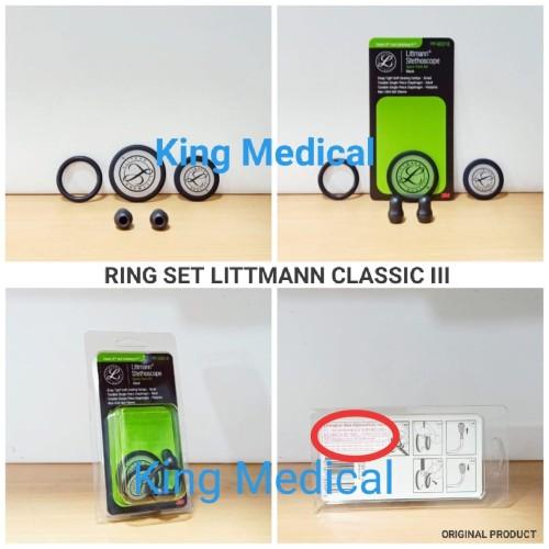 Foto Produk Membran Set Stethoscope Littman Classic ll,III Dewasa dan Anak Litman dari King Medical