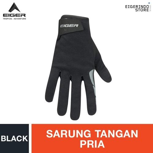 Foto Produk Eiger Riding Barrage Gloves - Black L dari Eigerindo Store