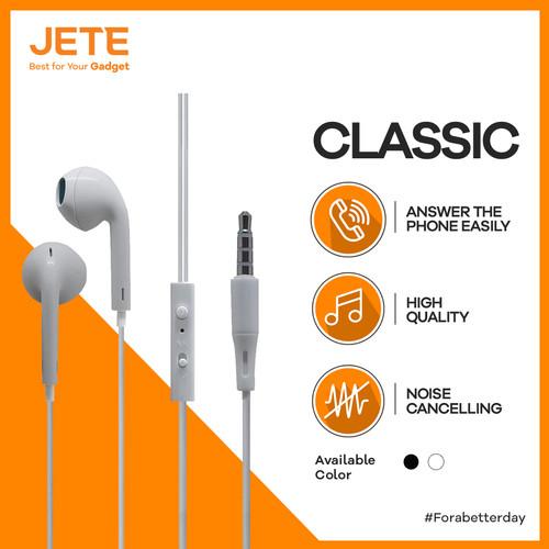 Foto Produk HEADSET | HEADPHONE | HANDSFREE | EARPHONE JETE CLASSIC dari JETE Indonesia