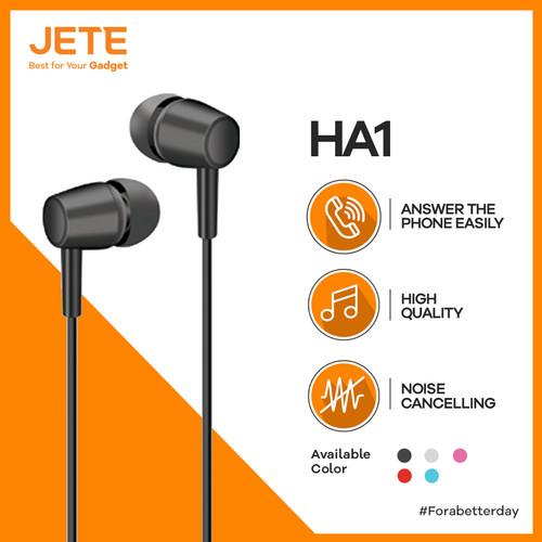 Foto Produk JETE HA1 Headset with audio Power and Stereo - Hitam dari JeteIndonesia