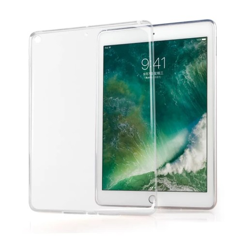 Foto Produk iPad 6 2018 iPad 5 2017 TPU Clear Soft Cover Case - Bening dari diva acc