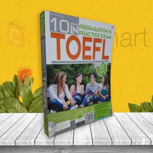 Foto Produk BUKU TES TOEFL TOEIC 10 EXAM IN PREPARATION & PRACTICE EXAM dari cerdas media
