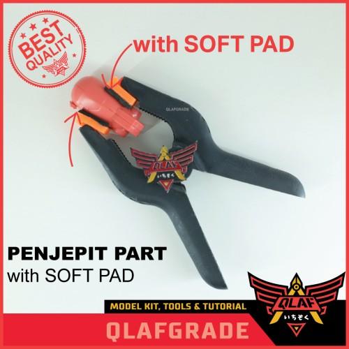 Foto Produk PENJEPIT PART WITH SOFT PAD EXTRA POWER clamp gundam model kit dari Wahkhilaf