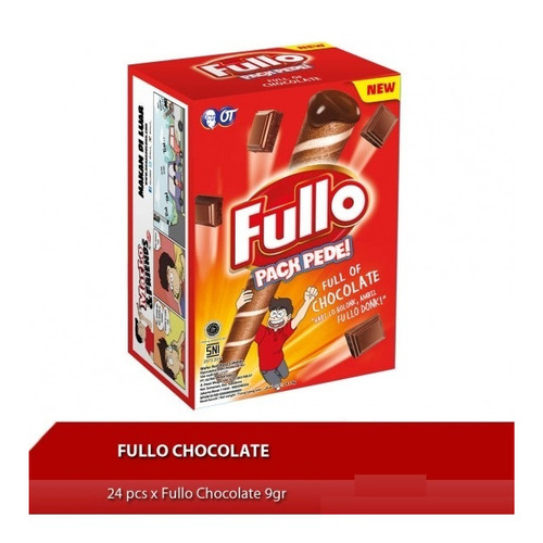 Foto Produk Fullo Twist Box 24x8gr - Chocolate dari EV Frozen Food