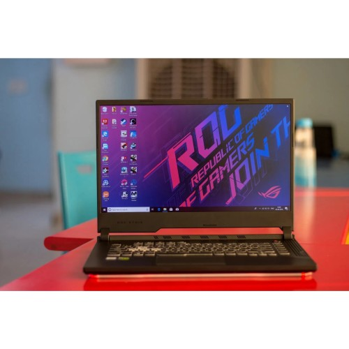 "Foto Produk LAPTOP GAMING ASUS ROG G531GT-i7-9750H-8GB-512GB SSD-GTX1650-4GB-15.6"" dari Langit Gadget"