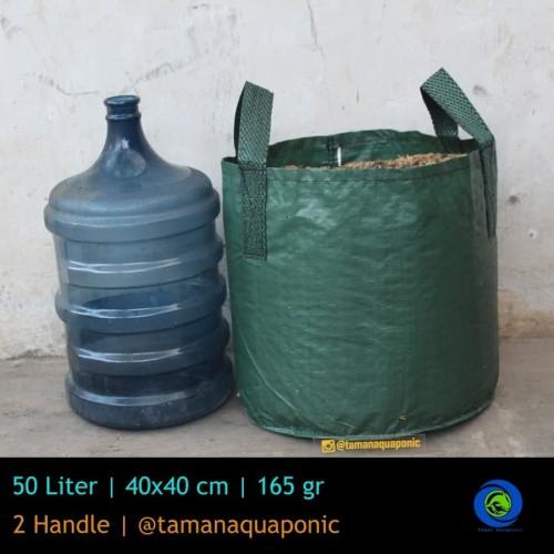 Foto Produk Planter Bag 50 L (Hijau) dari Taman Aquaponic