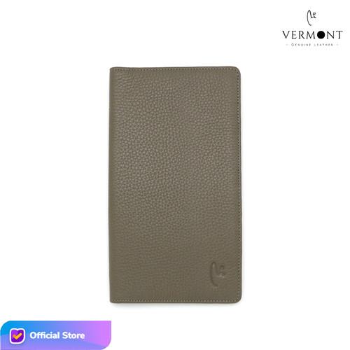 Foto Produk Dompet Panjang Kulit Asli Branded VERMONT V83 - L004 Original Leather - Classic Taupe dari VERMONT LEATHER