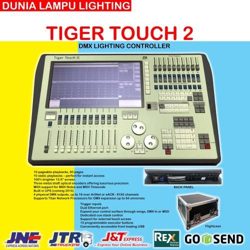Foto Produk Mixer Lampu Avolites Tiger Touch 2 China DMX 512 Lighting Controller dari DUNIA LAMPU LIGHTING