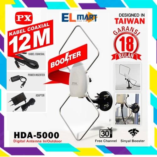 Foto Produk Antena TV digital indoor outdoor PX HDA-5000 / PX 5000 dari elmart