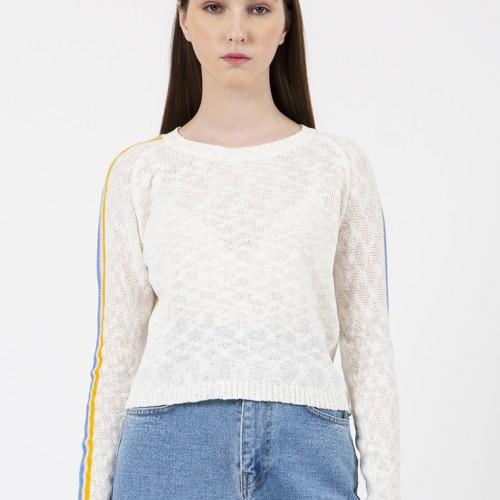 Foto Produk Colorbox MultiC Sweater I-Swgfjn120C017 White - White, L dari Colorbox Indonesia