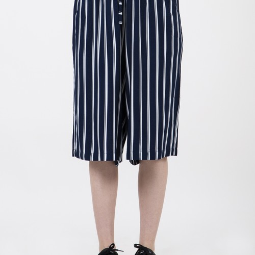 Foto Produk Colorbox Stripes Cullote Pants I-Clwkey120C065 Navy - Navy, S dari Colorbox Indonesia