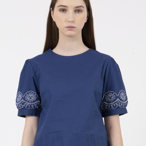 Foto Produk Colorbox Regular Blouse I-Bswfcr120C011 Blue - Blue, M dari Colorbox Indonesia