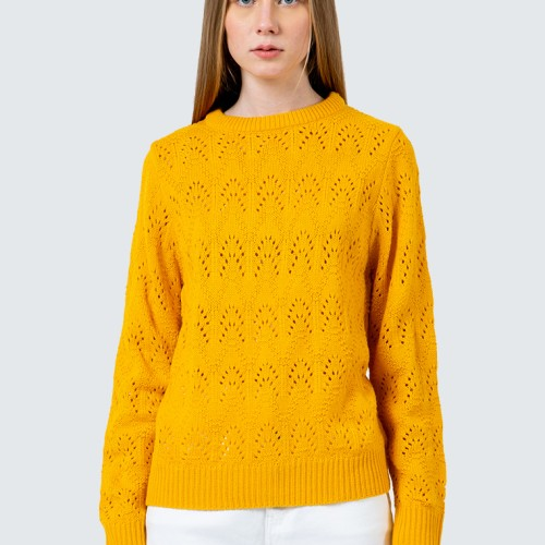 Foto Produk Colorbox Wave Patterned Sweater I-Swgfcr120D019 Yellow - Yellow, M dari Colorbox Indonesia