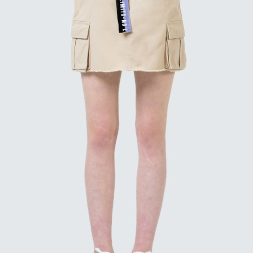 Foto Produk Colorbox Utility Skirt With Printed Belt I-Sidfct120D010 Cream - Cream, S dari Colorbox Indonesia