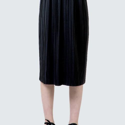 Foto Produk Colorbox Black Maxi Pleated Skirt I-Sxwkey120D014 Black - Black, M dari Colorbox Indonesia