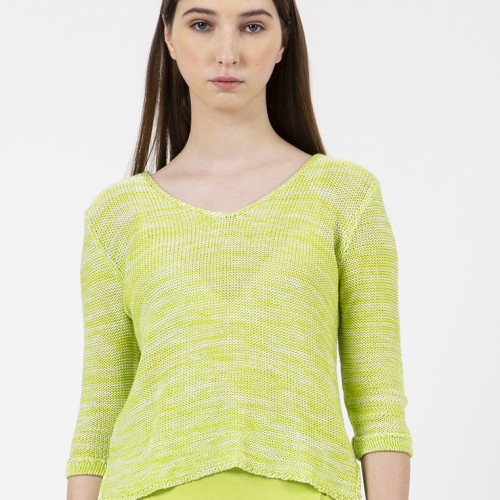 Foto Produk Colorbox Loose Sweater I-Swgkey120C012 Lime - S dari Colorbox Indonesia