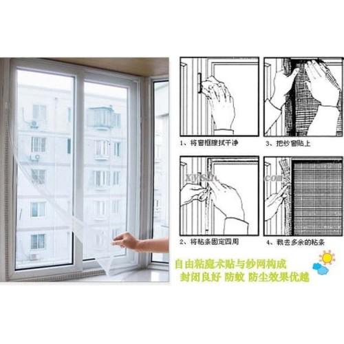 Foto Produk Tirai Jendela Pintu Anti Nyamuk Murah Kuat Awet Praktis Pasang dari Jual Beli Murah 17
