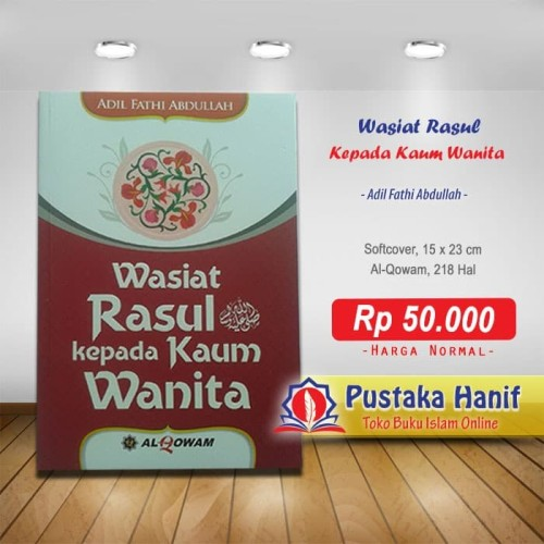 Foto Produk Buku Wasiat Rasul Kepada Kaum Wanita dari Pustaka Hanif