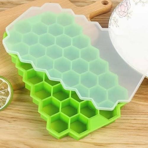 Foto Produk Cetakan Silikon MPASI Bayi Es Batu Honey Combs Silicone Tempat Simpen - Hijau dari Grosir Kitchenware