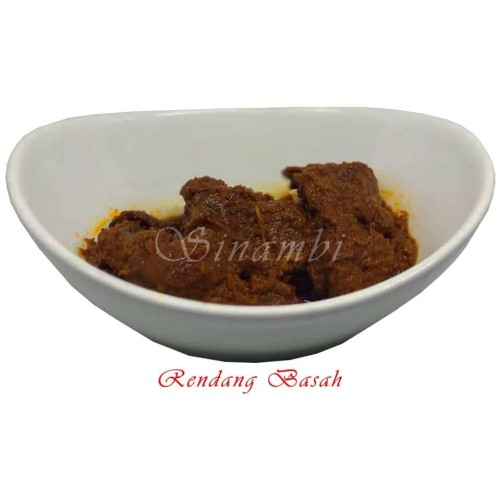 Foto Produk Rendang Basah 250 gr / Rendang Daging dari Sinambi Kuliner