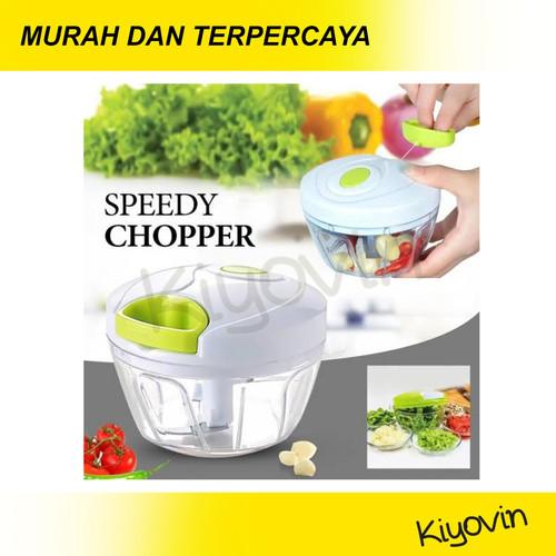 Foto Produk BLENDER TANGAN TARIK MANUAL SPEEDY CHOPPER ALAT PENCACAH MAKANAN DAPUR dari Kiyovin