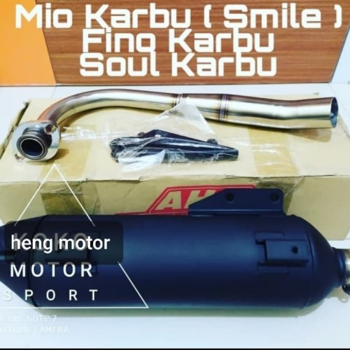 Foto Produk KNALPOT STANDART RACING TSUKIGI AHM MIO SPORTY dari HENG MOTOR