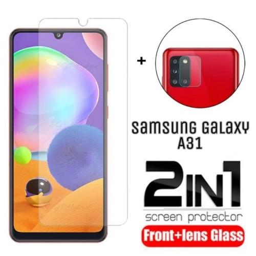 Foto Produk Tempered Glass Samsung A31 Pelindung Layar dan Pelindung Kamera dari AstoriaStore
