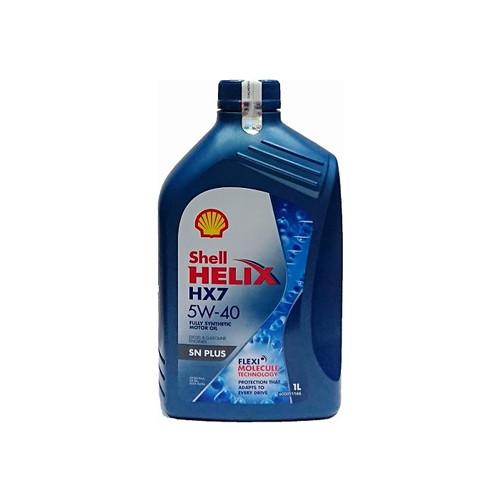 Foto Produk Oli Shell Helix HX7 10W-40 Biru 1 Liter dari Sumber Media Motor