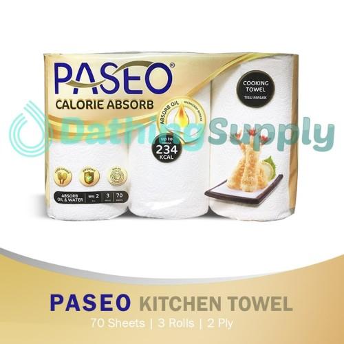 Foto Produk Tissue Paseo Kitchen Towel Roll Bundle 3 Roll dari Dathing Supply