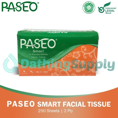 Foto Produk Paseo Smart Facial 250 Sheets dari Dathing Supply