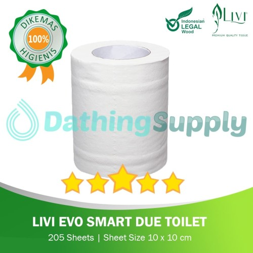 Foto Produk Livi Smart Due Toilet Roll dari Dathing Supply