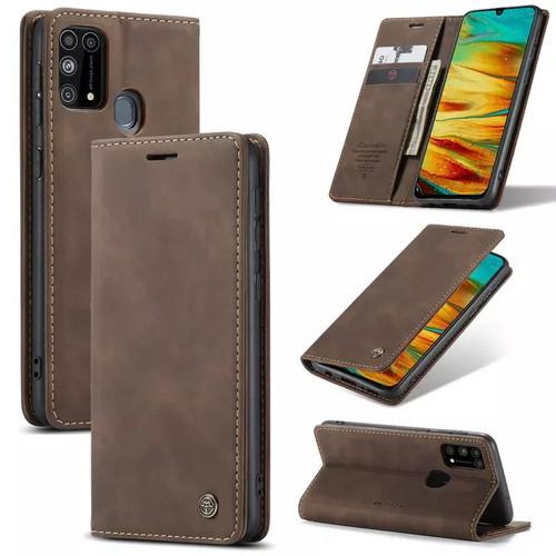 Foto Produk Samsung galaxy M31 Flip Case Caseme Cover Leather Wallet Dompet - Hijau dari Vinvend ACC